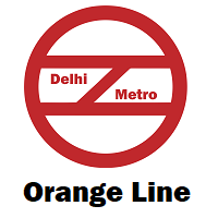 Orange Line Delhi Metro
